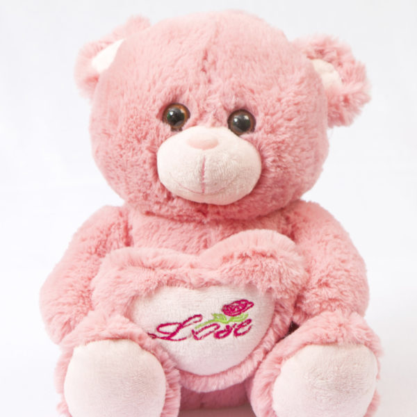 Pink teddy bear i love you to057392 freedelivery pink teddy bear i love you to057392 altavistaventures Images
