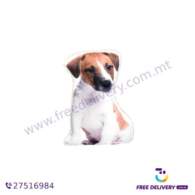 ADORABLE JACK RUSSELL SHAPED CUSHION AC1005
