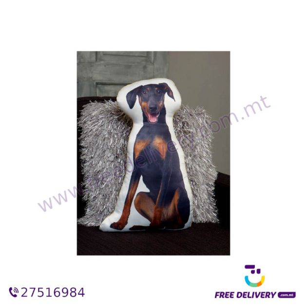 ADORABLE DOBERMAN SHAPED CUSHION AC1066