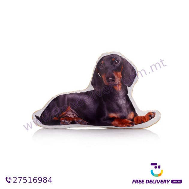 ADORABLE DACHSHUND SHAPED MIDI CUSHION ACM1017