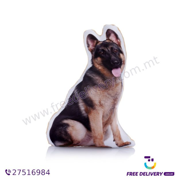 ADORABLE GERMAN SHEPHERD MIDI CUSHION ACM1025