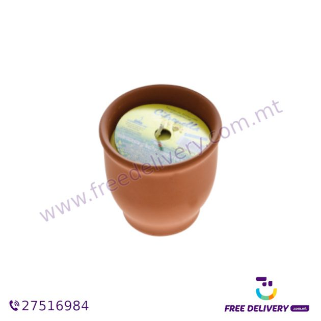 9cm by 4cm Citronella Candle PAR289280