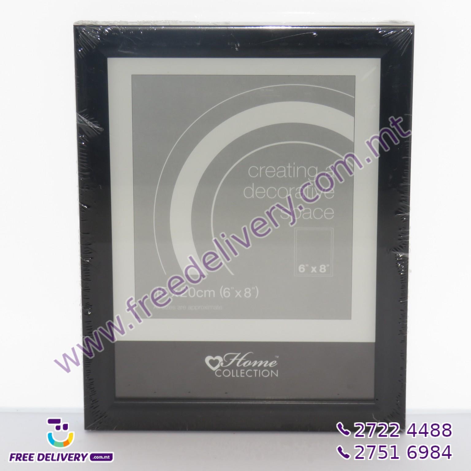 BLACK PHOTO FRAME 15 X 20CM (6X8″) – MISC367908
