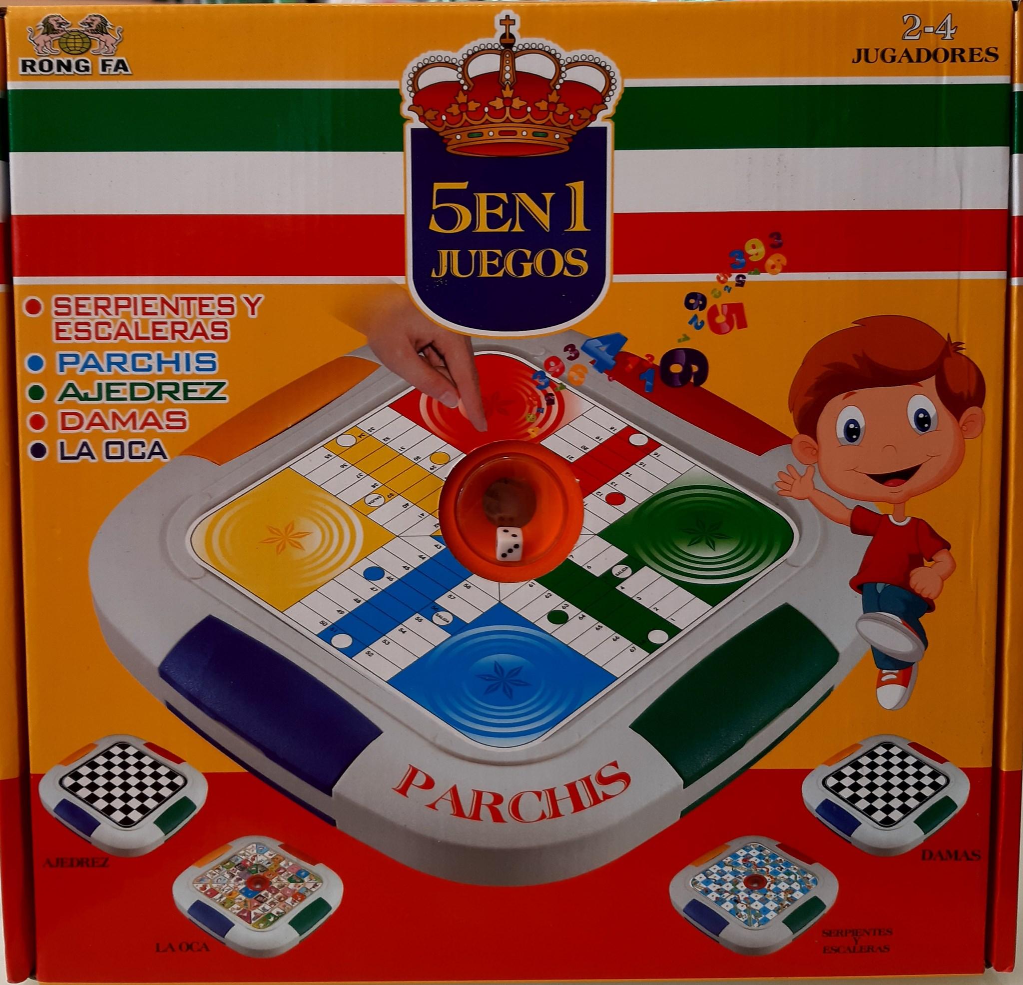 5 in 1 BOARD GAMES 090017