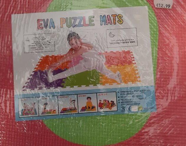 10 PCS EVA MAT – 074028100001