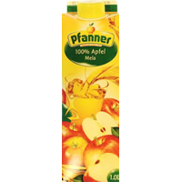 PFANNER 100% APPLE – 1L