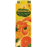 PFANNER 100% PINK GRAPEFRUIT. 1L.
