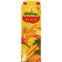 PFANNER A+C+E JUICE. 1L.