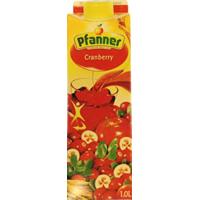 PFANNER CRANBERRY. 1L.