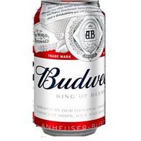 BUDWEISER BEER CAN. 355ML