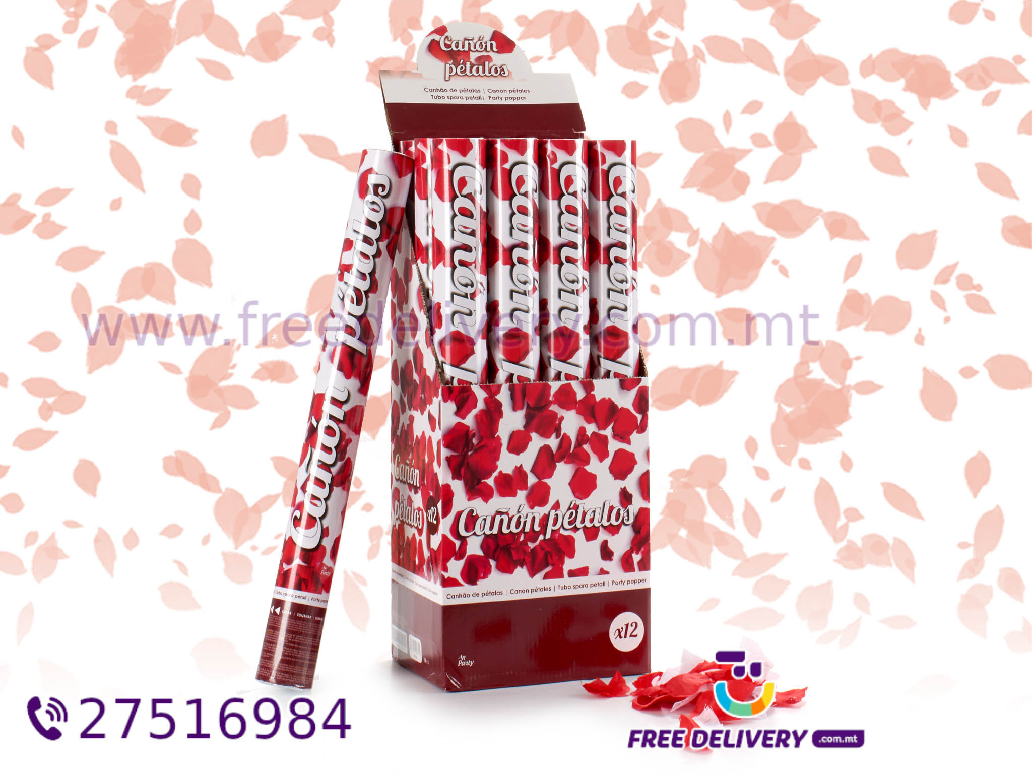 PETAL PARTY POPPERS AR118752