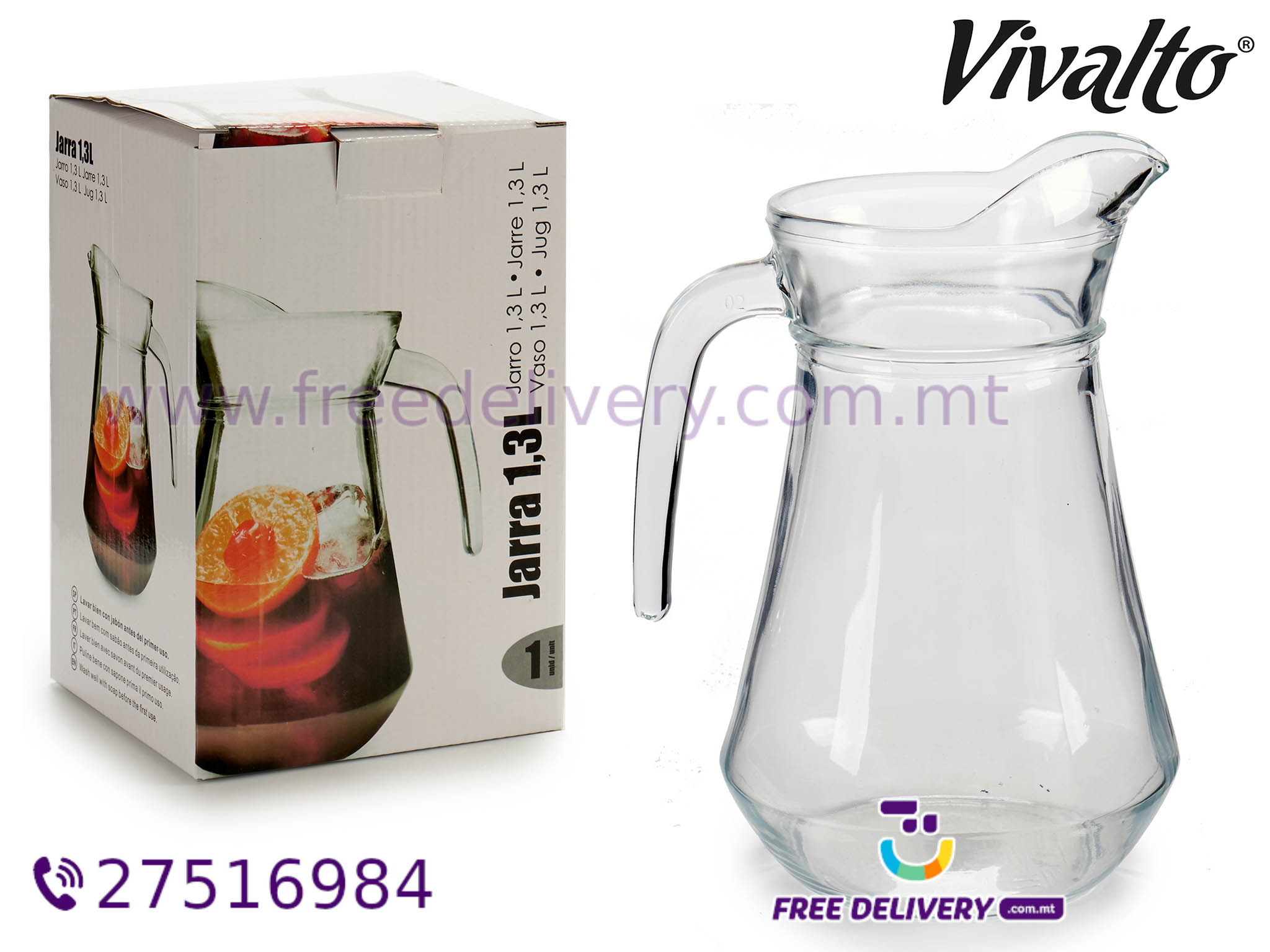 1.3L GLASS JUG AR410429