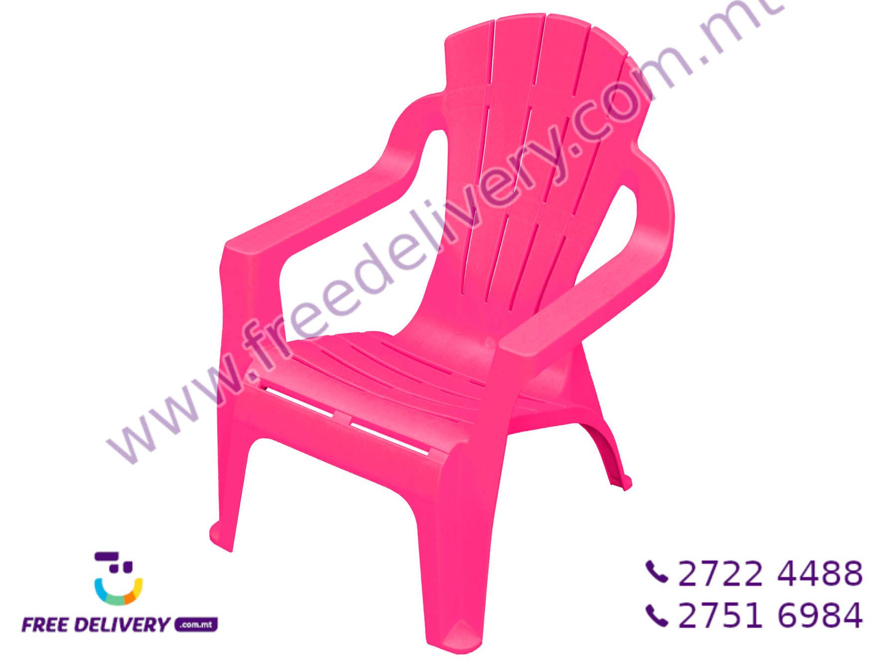 CHILDREN PLASTIC CHAIR GE061569