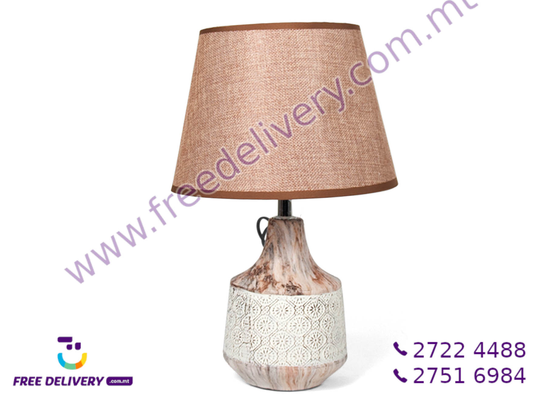 MARBLE TABLE LAMP GE672603