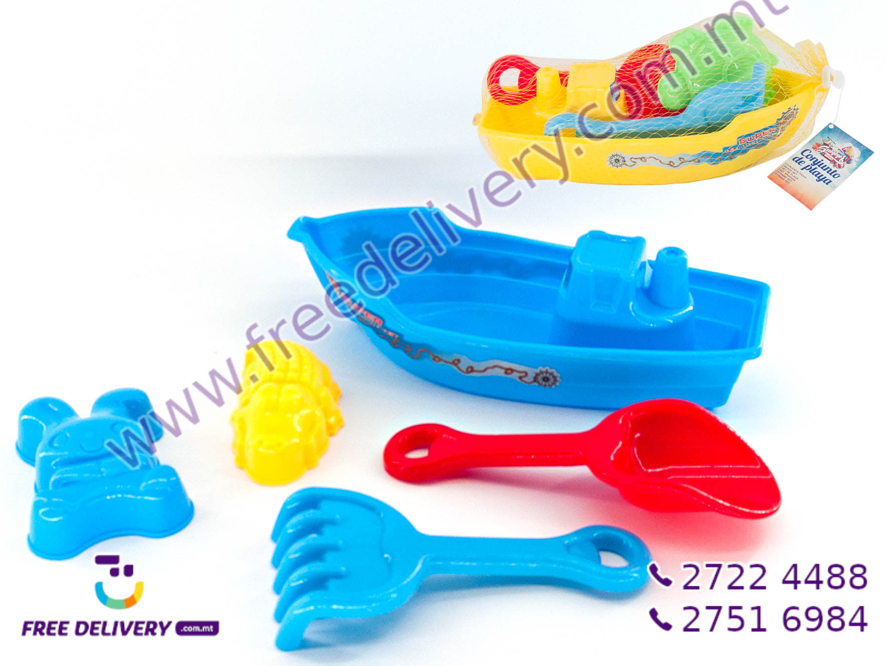 5 PIECE SAND TOY SET GE755535