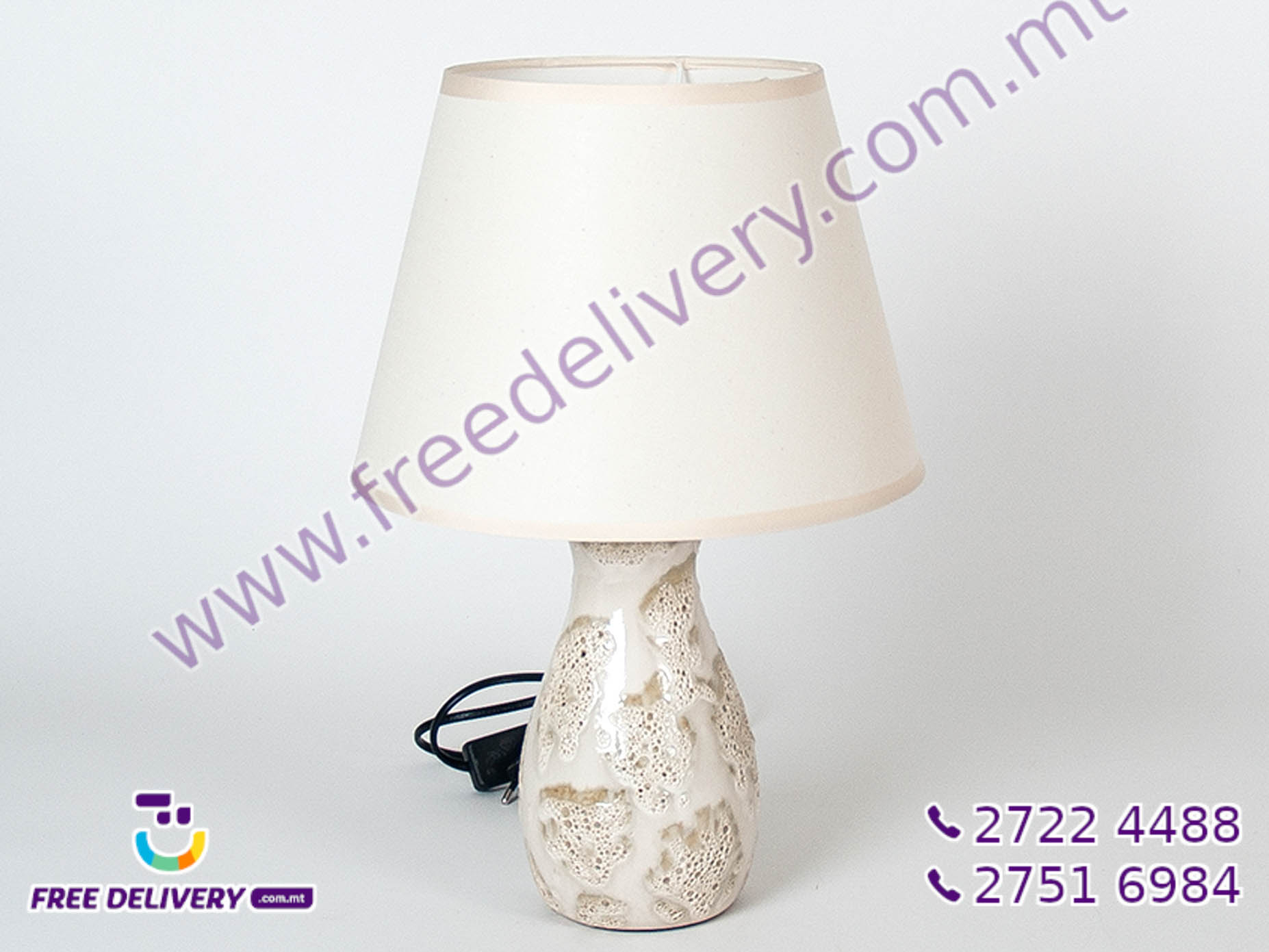 CORAL TABLE LAMP GE857444