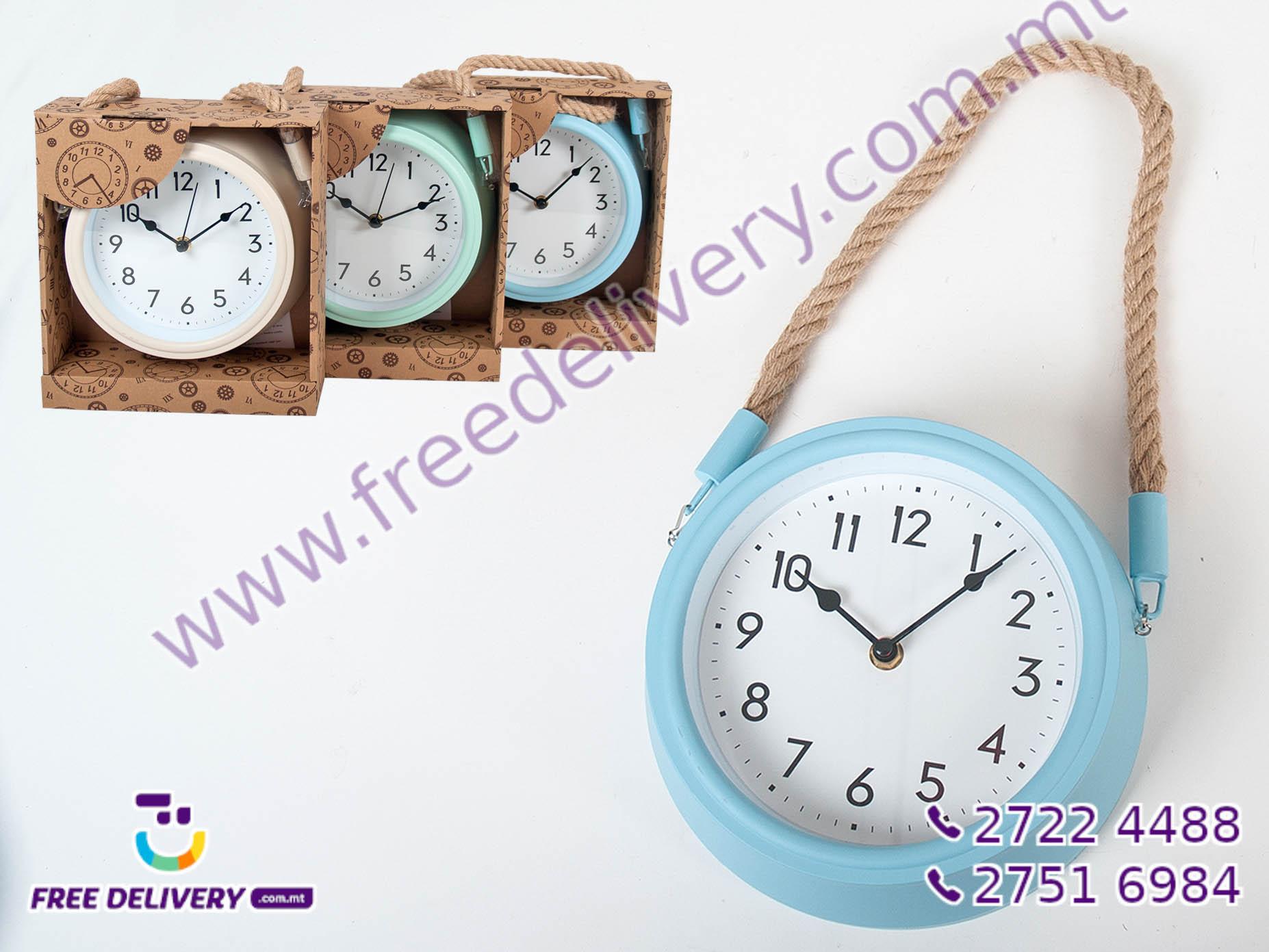 WALL CLOCK 21.5CM GE868464