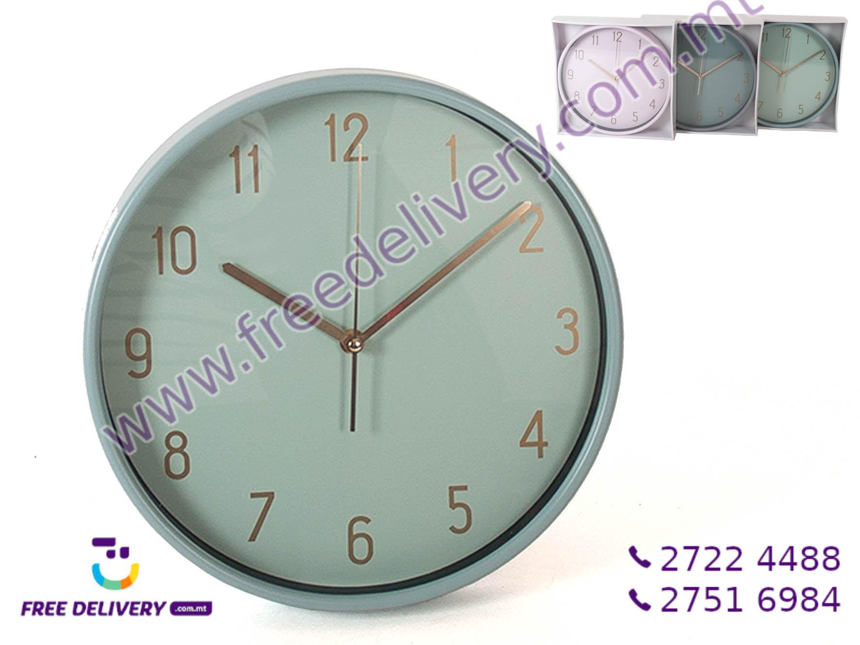 WALL CLOCK 30CM GE868792