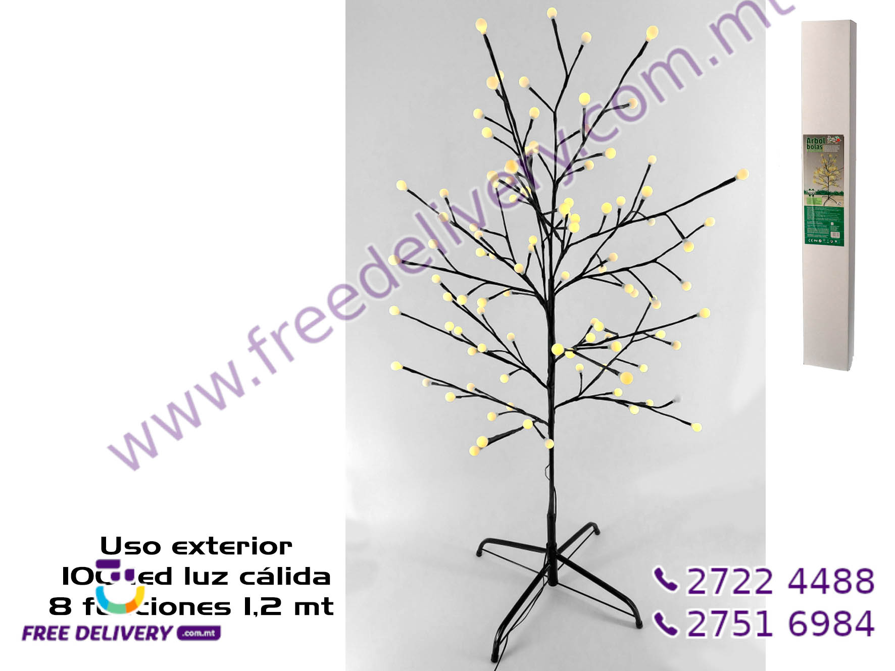 100 WARM LED TREE GE885713