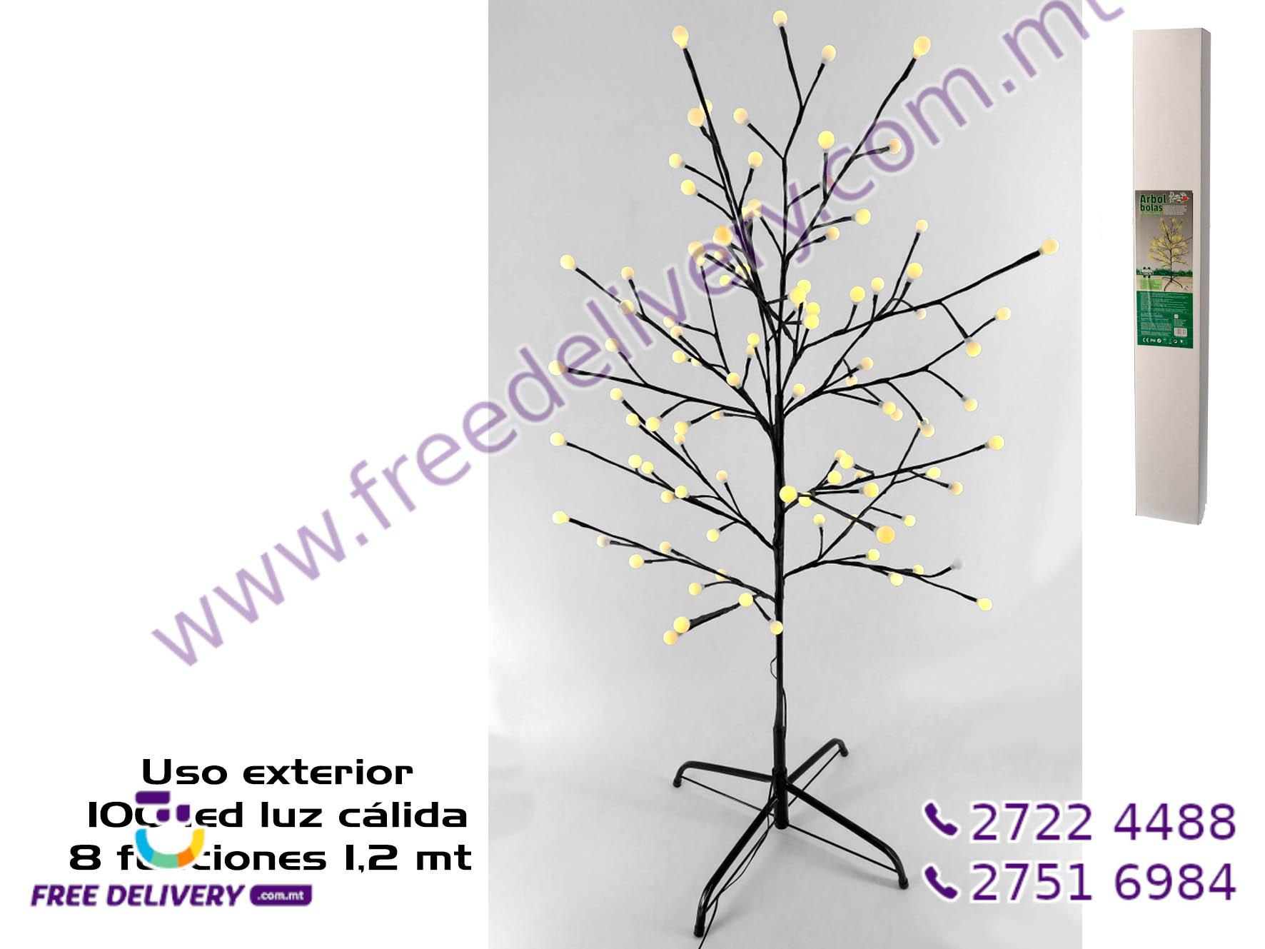100 WARM LED TREE GE885713