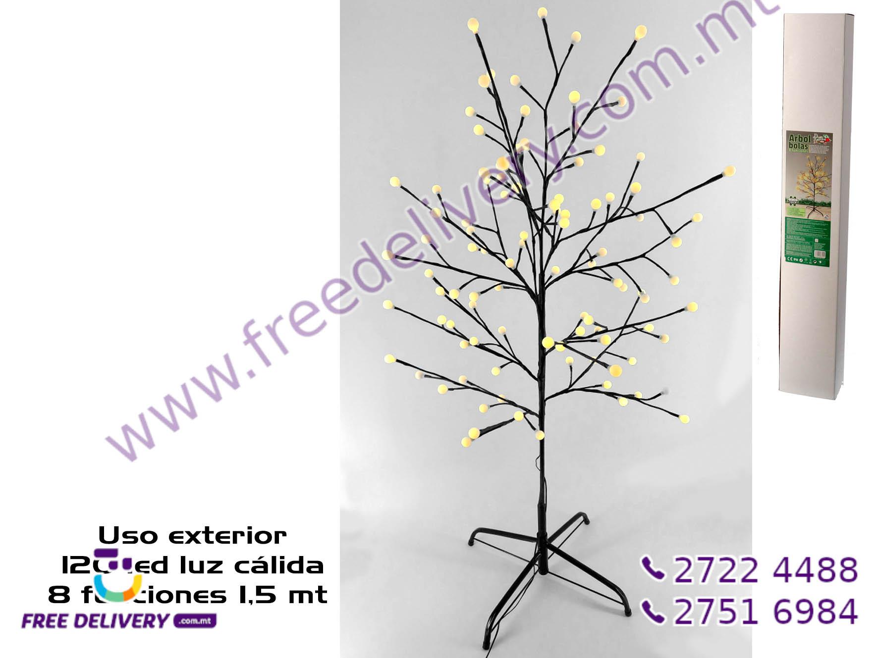 120 WARM LED TREE GE885744