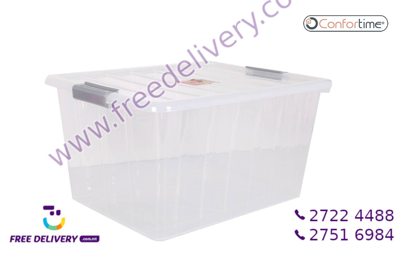 CLEAR STORAGE BOX 50L IN239340