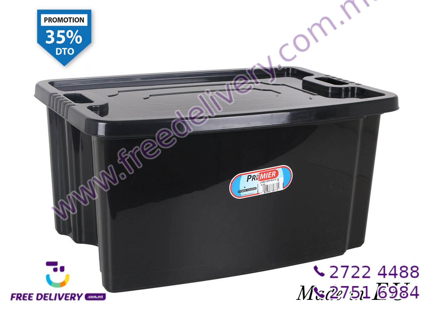 BLACK STORAGE BOX 35L IN328714