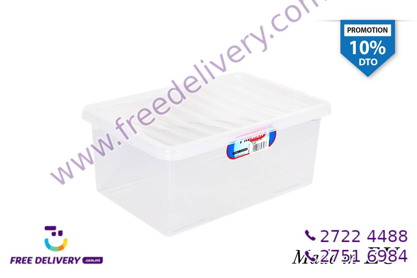 CLEAR STORAGE BOX 10L IN327168