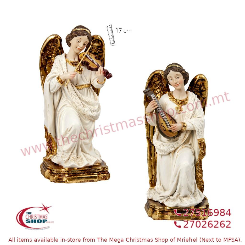PAIR OF 2 KNEELING ANGELS. JA090533