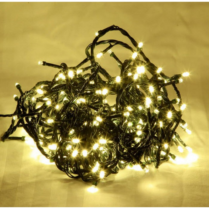 100 LED WARM WHITE FAIRY LIGHTS. INDOOR USE. PAR750847