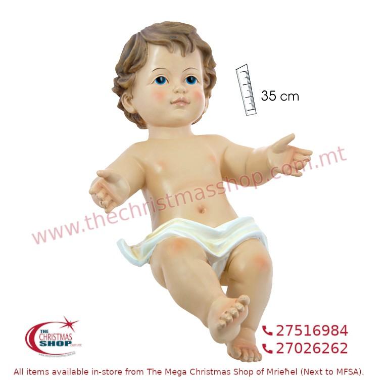 BABY JESUS. 35CMS. JA140818