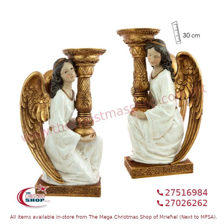 PAIR OF 2 KNEELING ANGELS. JA143253
