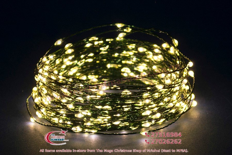 100 WARM WHITE MICRO LED. INDOOR AND OUTDOOR USE. PAR561600