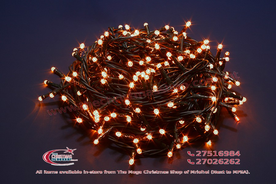 100 LED WARM WHITE MEMORY FAIRY LIGHTS. INDOOR AND OUTDOOR USE. PAR567701