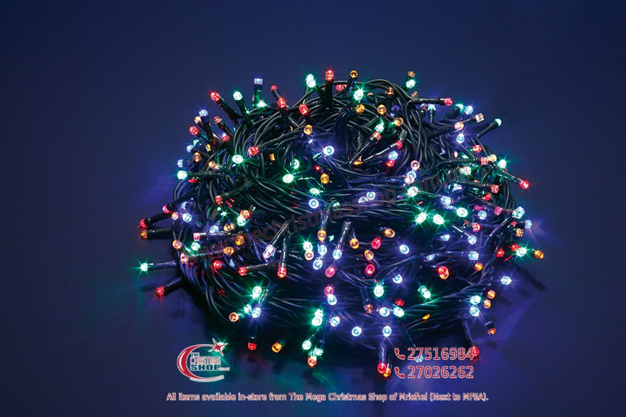 1000 LED MULTICOLOUR FAIRY LIGHTS. INDOOR AND OUTDOOR USE. PAR568173