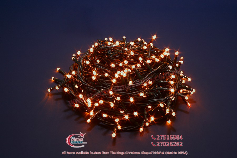 1000 LED WARM WHITE FAIRY LIGHTS. INDOOR AND OUTDOOR USE. PAR568203