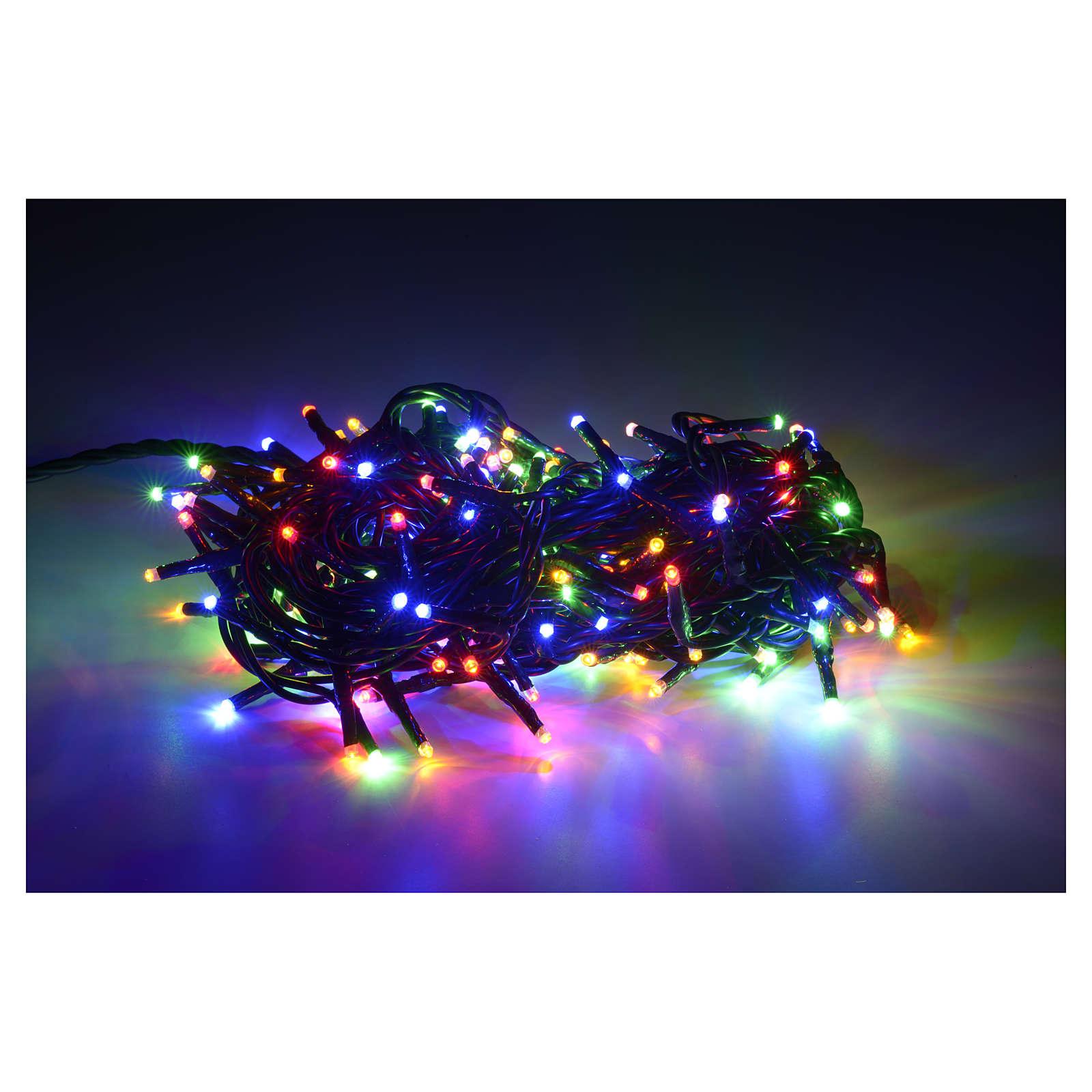 100 LED MULTICOLOUR FAIRY LIGHTS. INDOOR USE. PAR750809