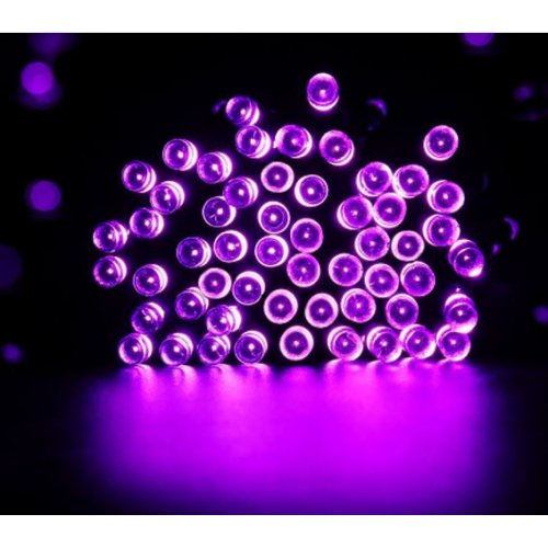 120 LED PINK FAIRY LIGHTS WITH TRANSPARENT WIRE. INDOOR AND OUTDOOR USE. PARF503034