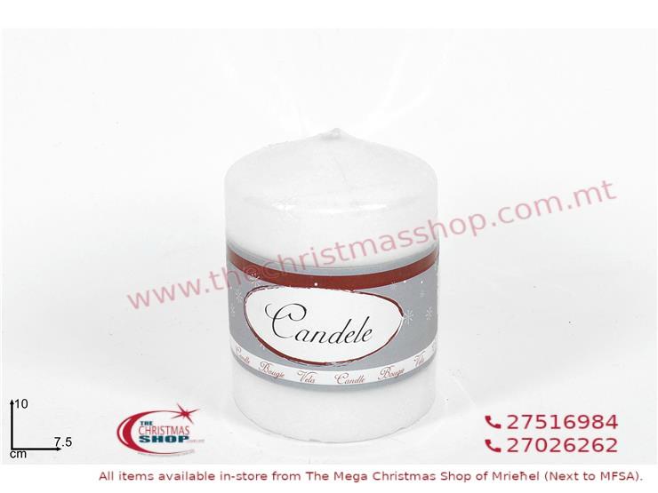 WHITE CANDLE. DE347324