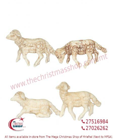 PACKET OF 24 SHEEP FOR CRIB. EMG1101-E