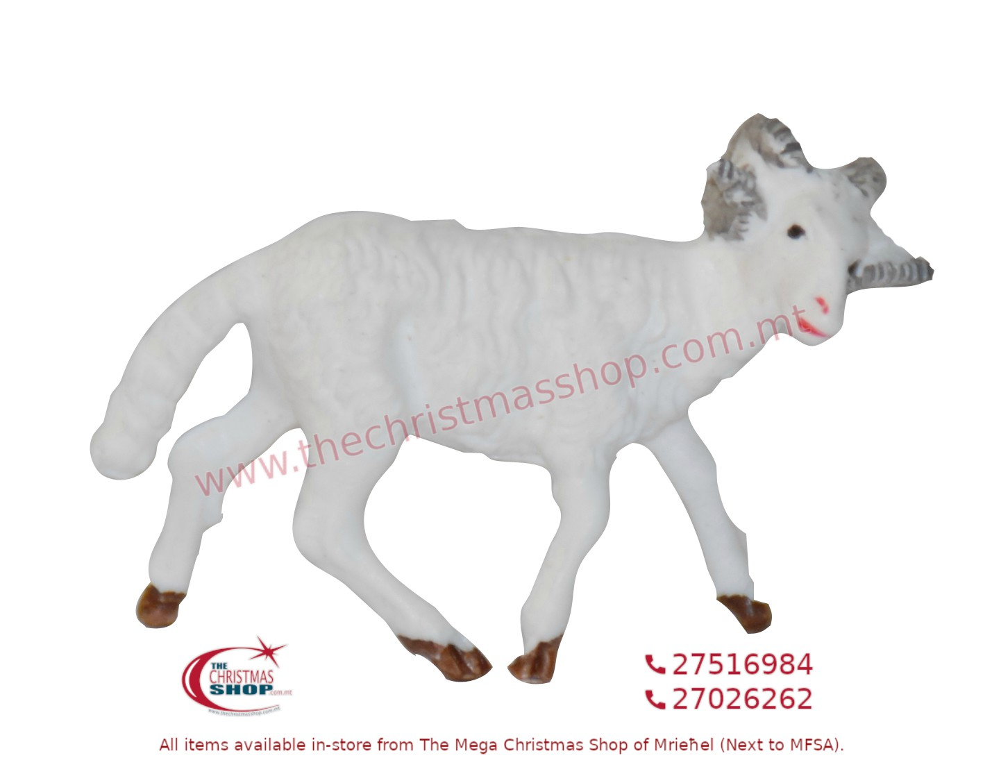 PACKET OF 12 RAMS FOR CRIB. EMG1108-LU