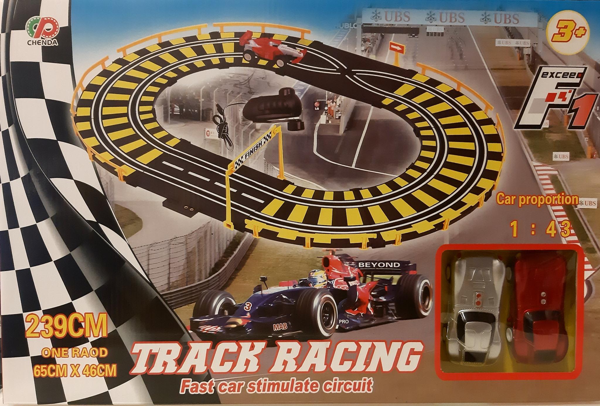 TRACK RACING FAST CAR STIMULATE CIRCUIT 239CM 384980