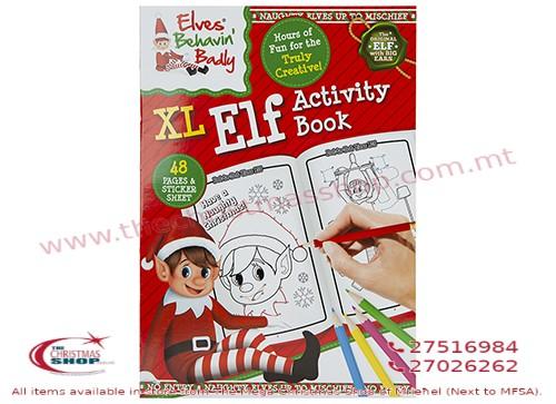 ELVES ACTIVITY BOOK. 500117
