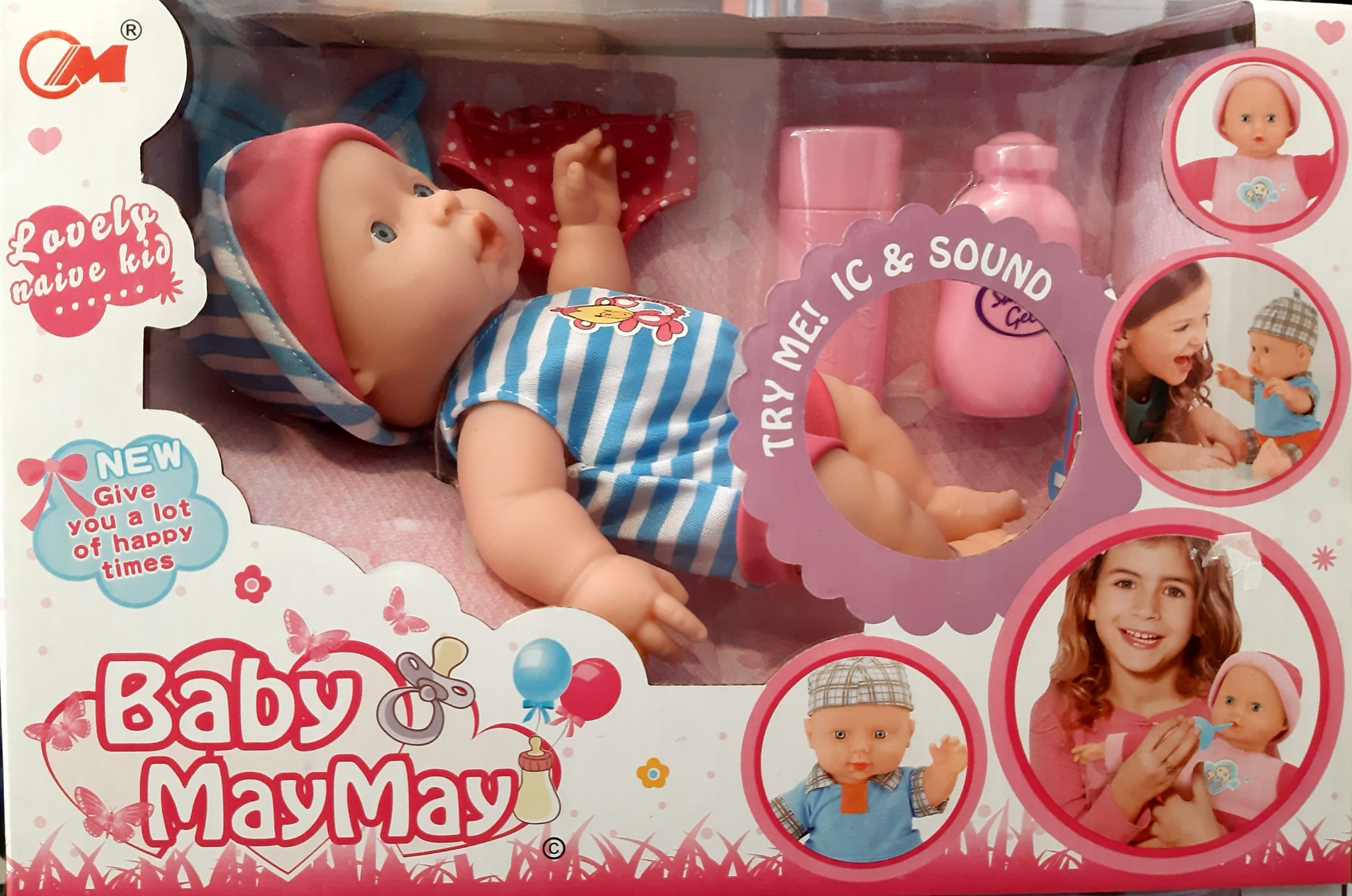 BABY MAY MAY TRY ME IC & SOUND 392504