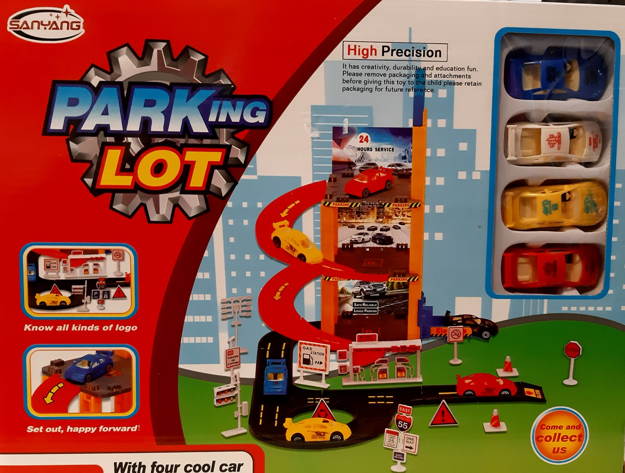24 HOUR SERVICE PARKING LOT FOR CARS 309083