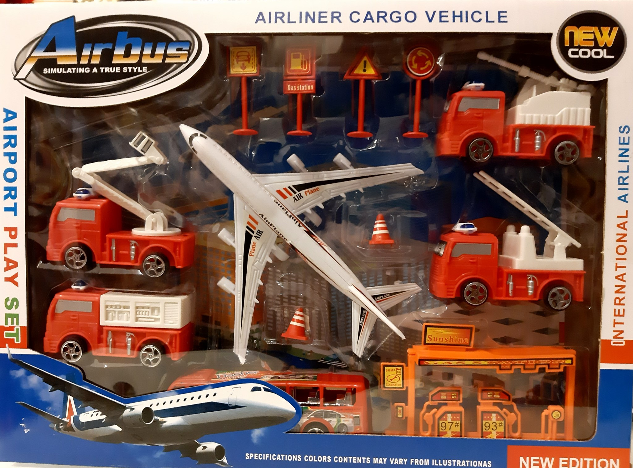 AIRLINER CARGO VEHICLE NEW ADDITION 680836