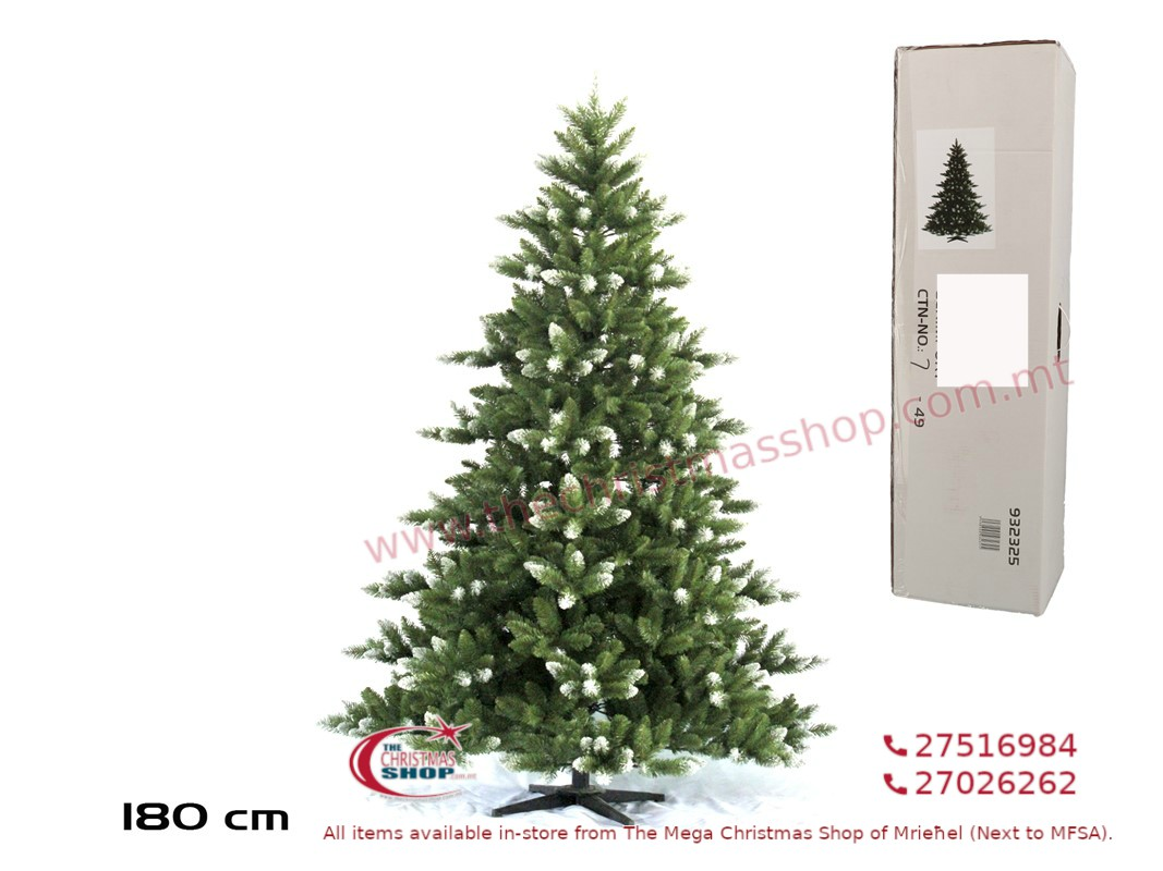 CHRISTMAS TREE GRANADA. 180CMS. GE932325