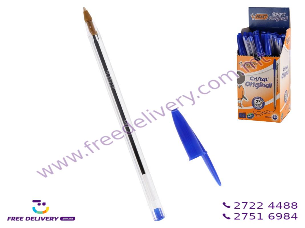 BIC CRYSTAL BLUE PEN. GE129627
