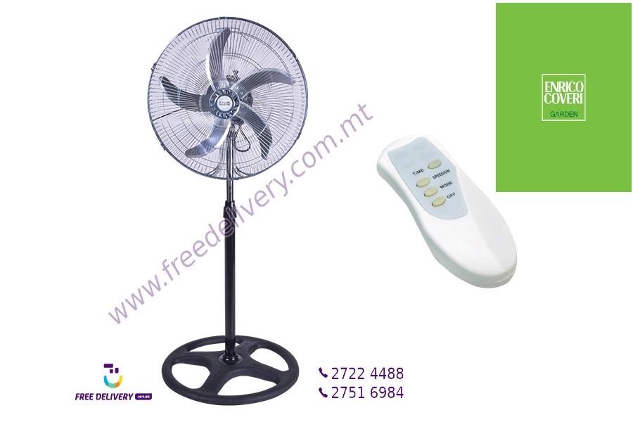 ENRICO COVERI METAL STAND FAN WITH REMOTE CONTROL. PAR775137