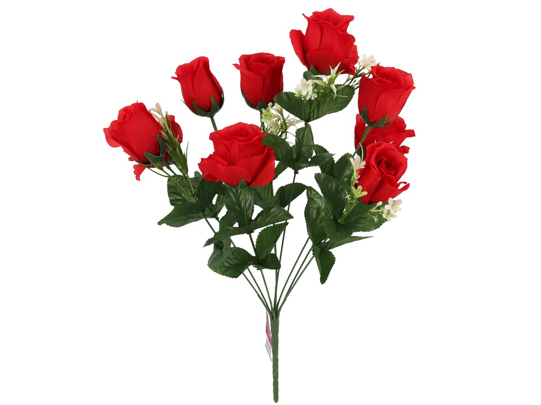 BUNCH OF RED ROSES 9-47CM GE891349